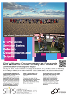 "STiPS Handai研究会 第47回 ""Documentary as Research: Communication for Change and Impact"" Citt Williams シリーズ Between Documentaries and Science #1"