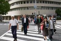 マンガカフェ7「手塚治虫を歩く~中之島を中心に~」(10/10実施)のゲスト・田浦紀子さんからレポートが届きました!